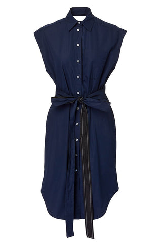 Derek Lam, Button Front Wrap Dress