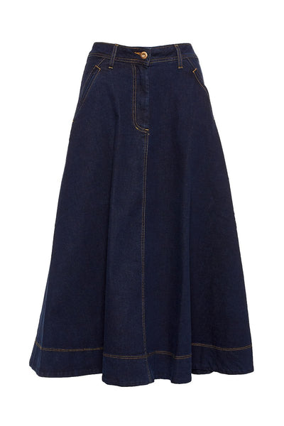 Lesly Denim Skirt