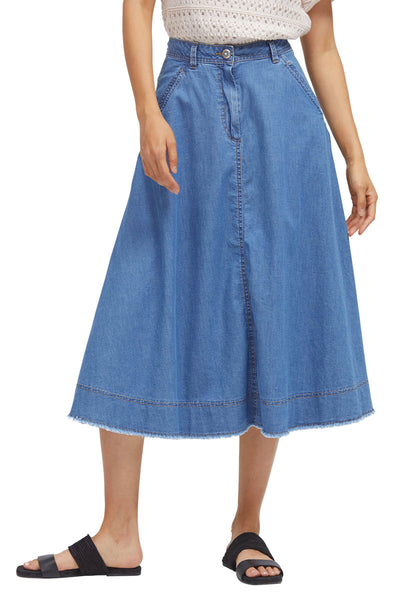 Lesley Chambray Skirt