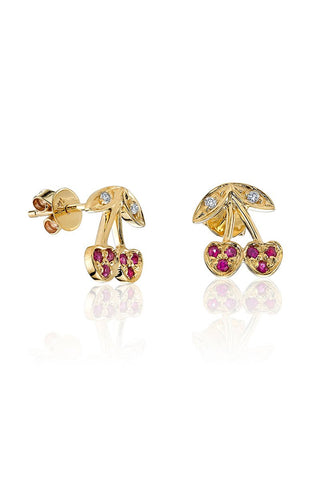 Sydney Evan, Cherry Stud Earrings