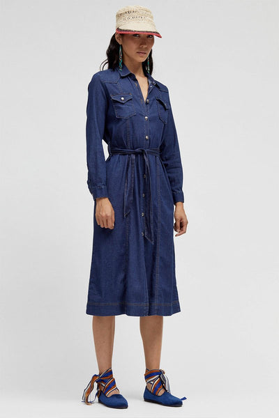 Annie Chambray Dress