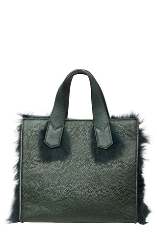 Eddy Fur Trim Bag