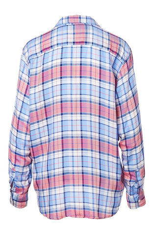 Eileen Plaid Button Front Shirt