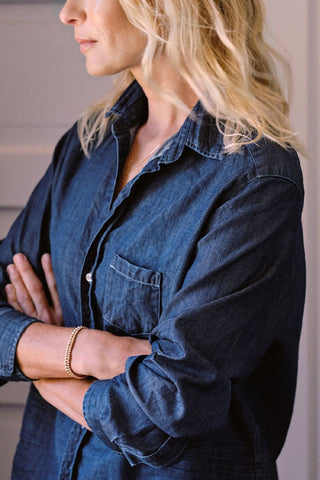 Eileen Famous Denim Shirt