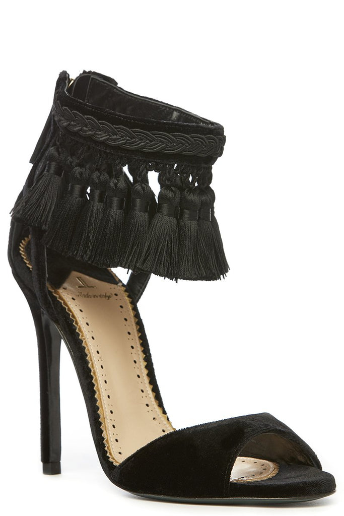 High Fashion Tassel Heels