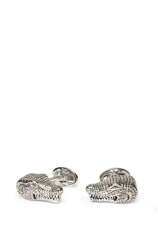 , Snapping Alligator Cufflinks