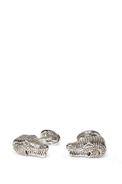 Jan Leslie, Snapping Alligator Cufflinks