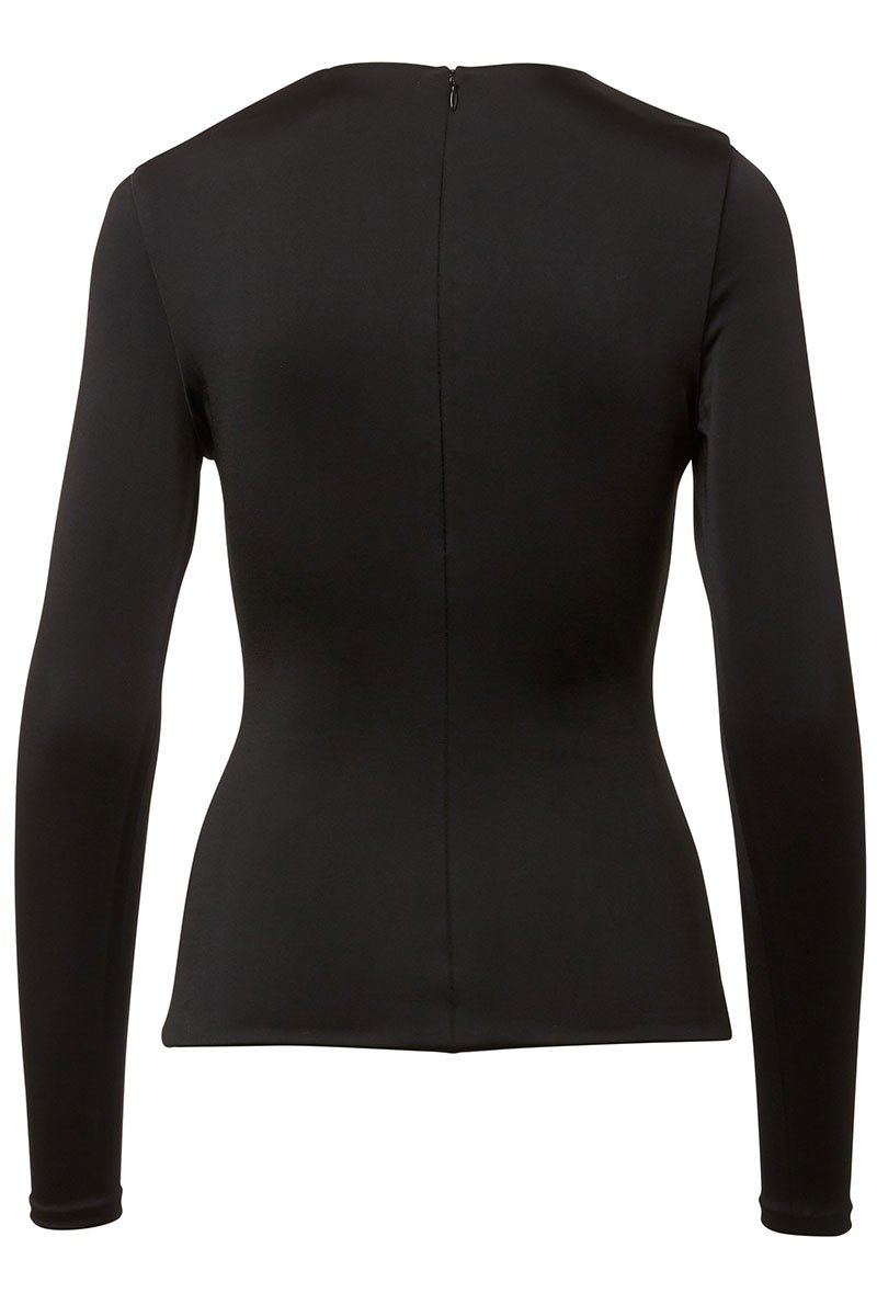 Callum Curve Cut-Out Top
