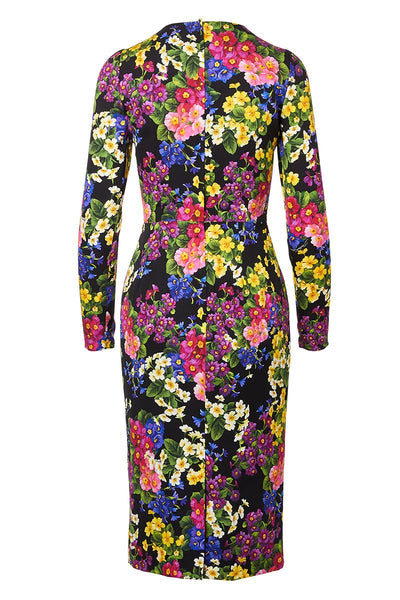 Dolce & Gabbana, Floral Cady Dress