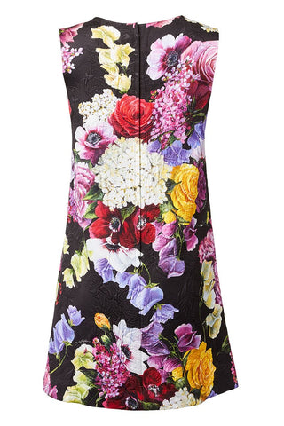 Dolce & Gabbana, Floral Brocade Shift Dress