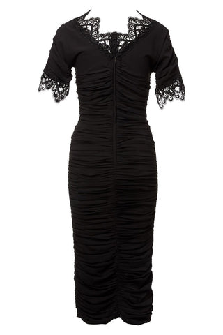 , Ruched Bodycon Dress