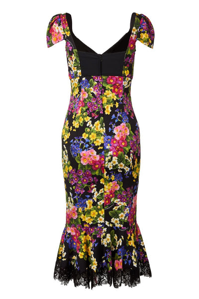 Dolce & Gabbana, Floral Bustier Dress