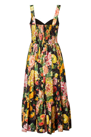 Mix Flowers Bustier Dress
