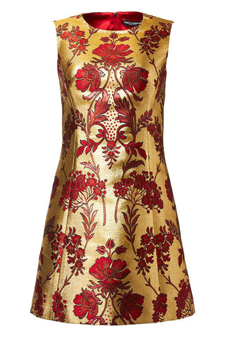Jacquard Lurex Dress