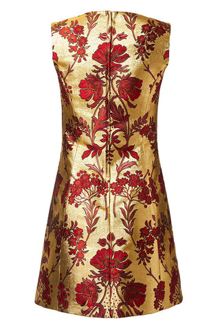Dolce & Gabbana, Jacquard Lurex Dress