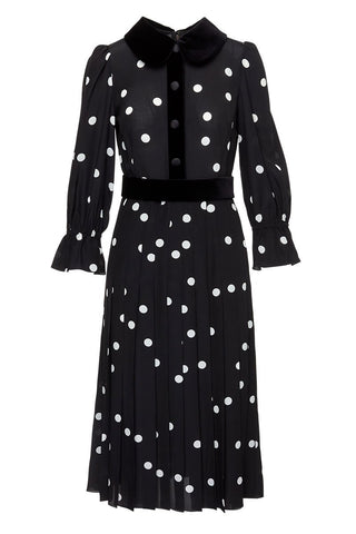 Dolce & Gabbana, Polka Dot Shirtdress