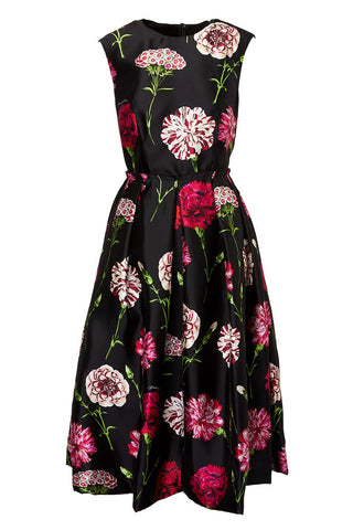 Dolce & Gabbana, Carnation Mikado Silk Dress