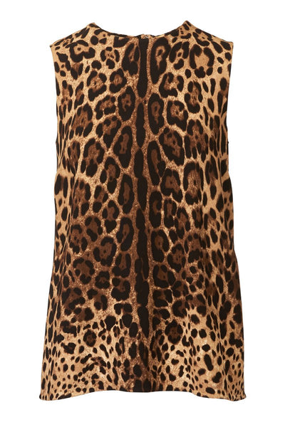Dolce & Gabbana, Leo Sleeveless Blouse
