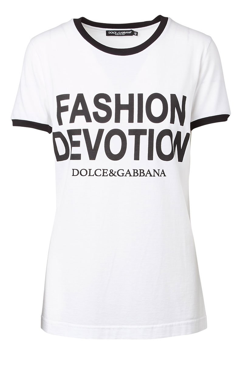 Dolce & Gabbana, Fashion Devotion T-Shirt