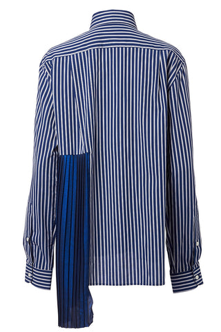 Each X Other, Striped Scarf Shirt