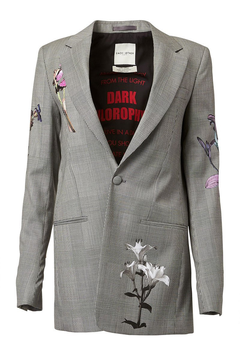 Each X Other, Floral Print Blazer