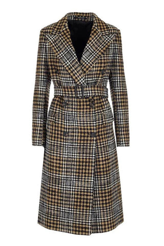 Jole C Houndstooth Coat