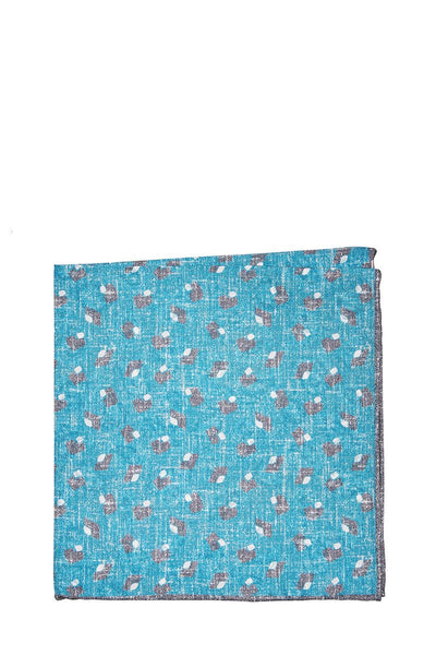 Isaia, Graphic Print Pocket Square