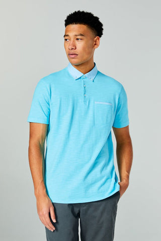 Good Man Brand, Soft Slub Jersey Polo