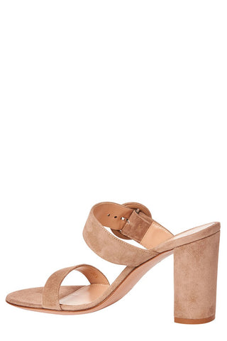 Gianvito Rossi, Lee Suede Heeled Mules