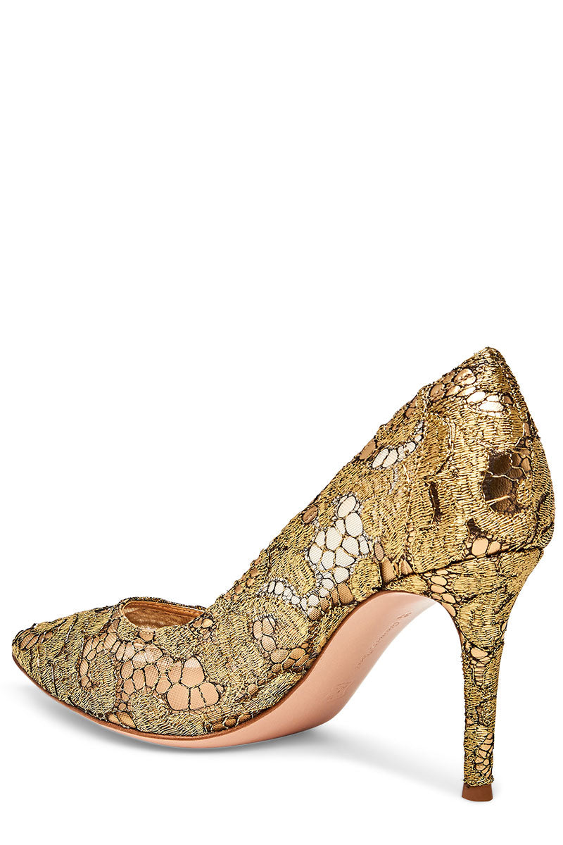 Gianvito Rossi, Mavis Lace Pumps