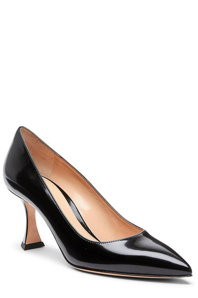 Flare Heel Pumps