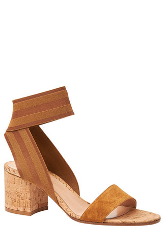 Gianvito Rossi, Elastic Cork Sandals