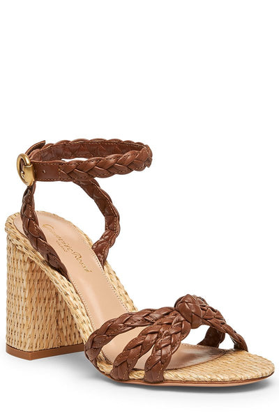 Gianvito Rossi, Bee Braided Sandals