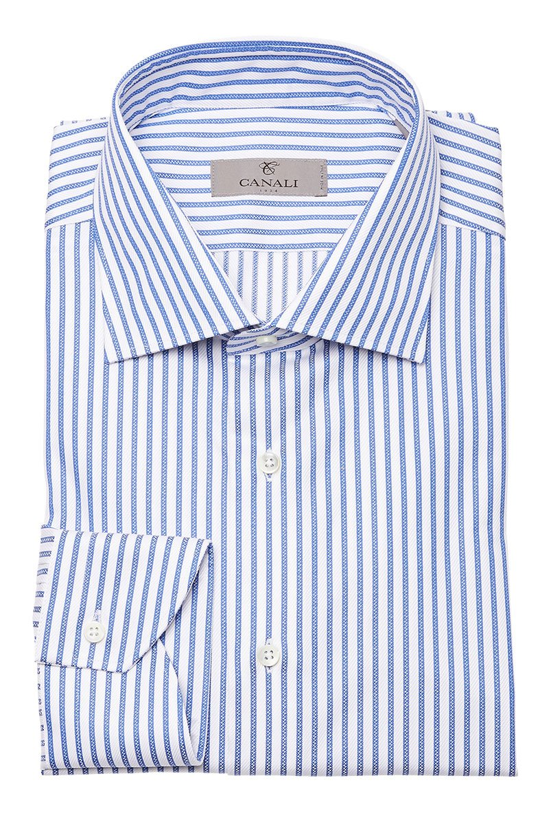 Canali, Striped Dress Shirt