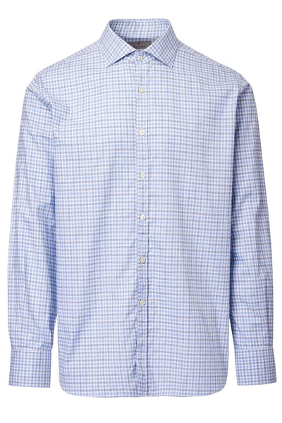 Canali, Checked Sportshirt