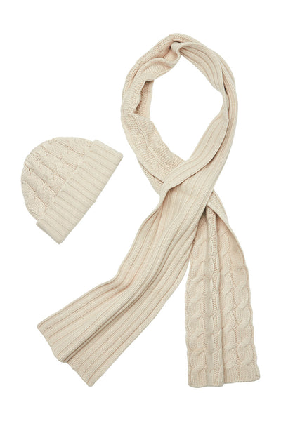 Portolano, Cable Knit Scarf