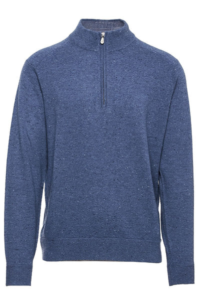 Mock Neck 1/4 Zip Sweater