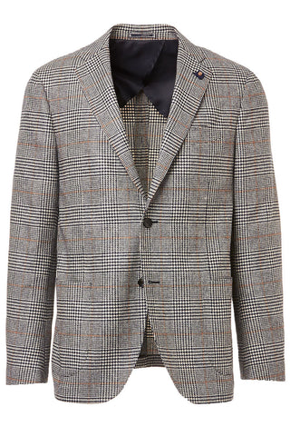Glen Plaid Soft Sportcoat