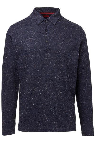 ISAIA, Speckled Polo
