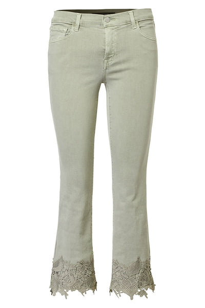 J Brand, Selena Cropped Boot Cut Jeans