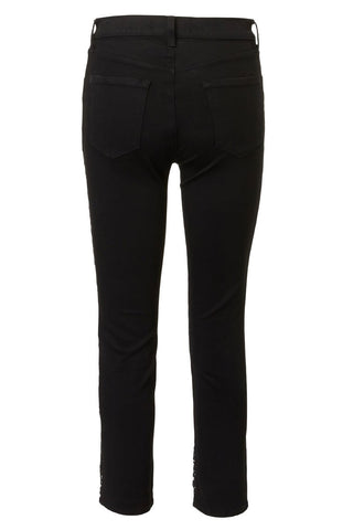 J Brand, Ruby Cropped Cigarette Jeans
