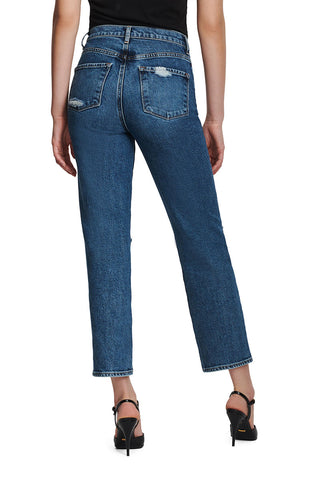 Jules High-Rise Ankle Straight Jeans