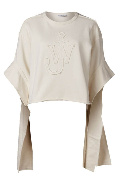 Anchor Elongated Sleeve Sweater