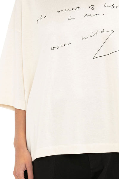 Oscar Wilde Oversized T-Shirt