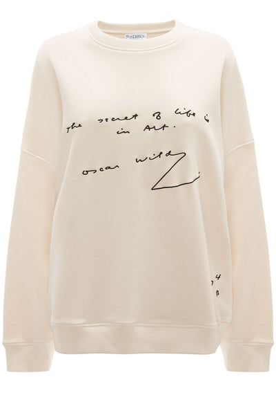 Oscar Wilde Oversized Sweatshirt
