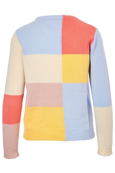 Chinti & Parker, Mondrian Cashmere Sweater