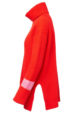 Chinti & Parker, Rib Rollneck Sweater