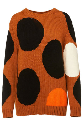 Chinti & Parker, Ginger Dot Sweater