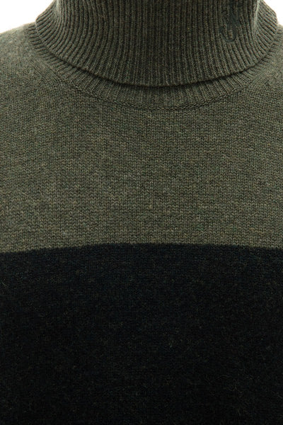 Knit Colorblock Turtleneck