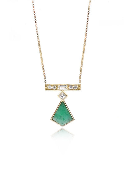 Ashley Zhang, Jade Kite Necklace